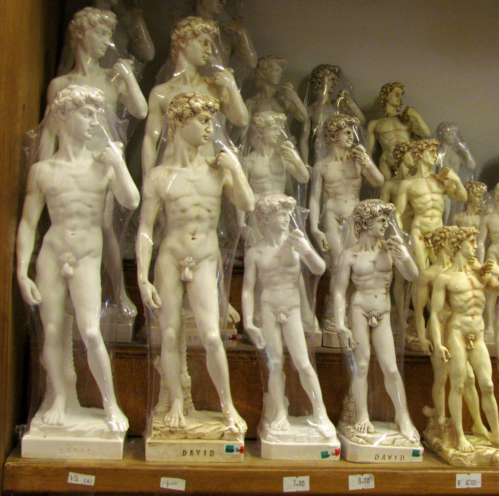 """David's Under Wraps,"" from Five Weeks in Florence - 2011"
