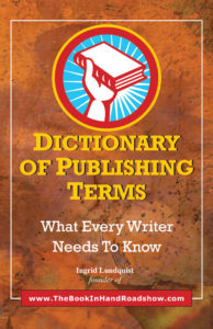dictionary of publishing terms by ingrid lundquist